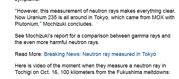 220 km Neutron ray measured in Tokyo — Uranium-235 found in Chiba — Can't be detected by most geiger counters 2.jpg