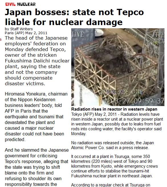 z Japan bosses state not Tepco liable for nuclear damage.png