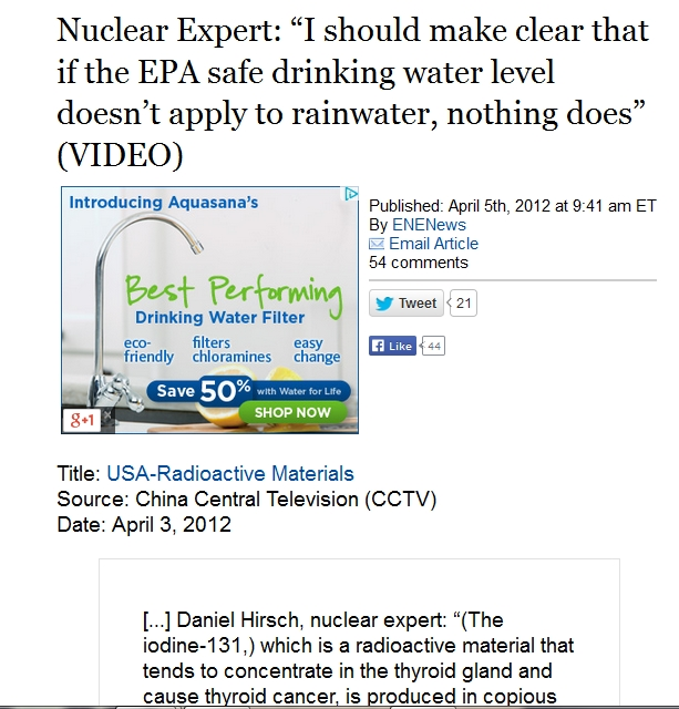 "1 Nuclear Expert ""I should make clear that if the EPA safe drinking water level doesn't apply to rainwater, nothing does.jpg"
