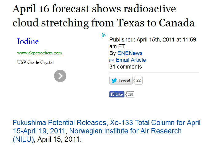 3 April 16 forecast shows radioactive cloud stretching from Texas to Canada.PNG
