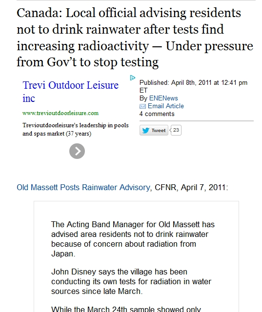 1 Local official advising residents not to drink rainwater after tests find increasing radioactivity.jpg