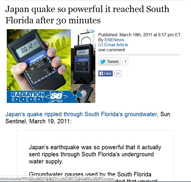 Japan quake so powerful it reached South Florida after 30 minutes.jpg