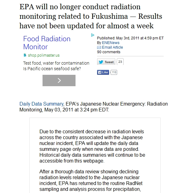 EPA will no longer conduct radiation monitoring related to Fukushima.jpg