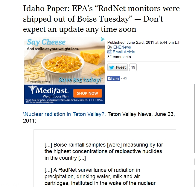 "EPA's ""RadNet monitors were shipped out of Boise Tuesday.jpg"
