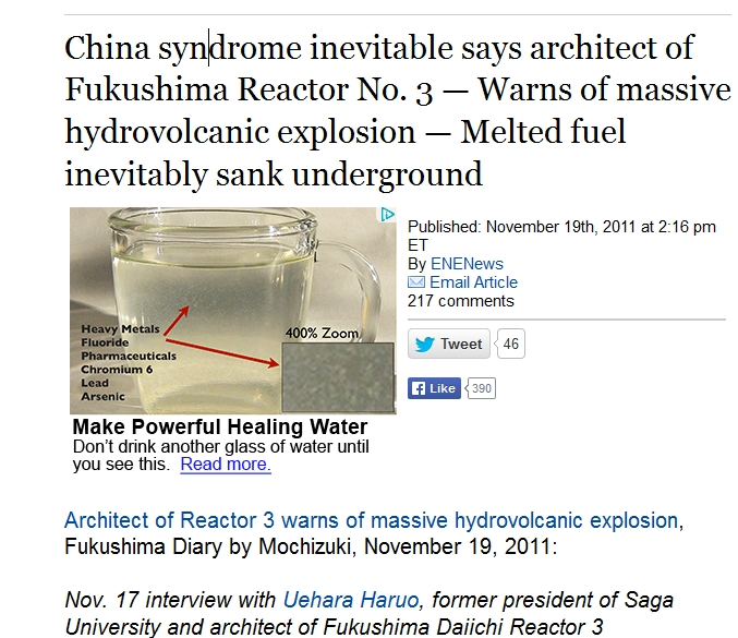 China syndrome inevitable says architect of Fukushima Reactor No. 3.jpg
