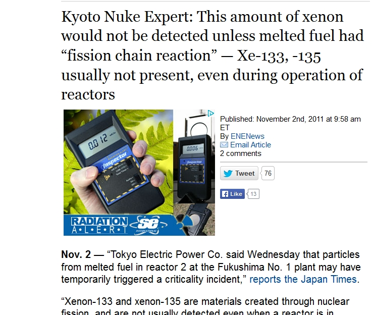 "fuel had ""fission chain reaction"" — Xe-133, -135 usually not present.jpg"