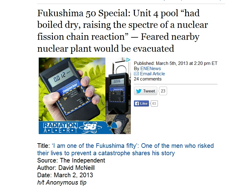 "Fukushima 50 Special Unit 4 pool ""had boiled dry.jpg"