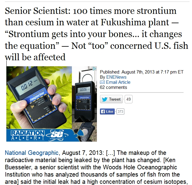 Senior Scientist 100 times more strontium than cesium in water at Fukushima plant.jpg