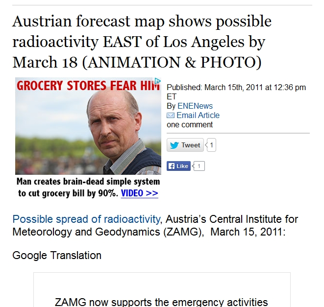 2 Austrian forecast map shows possible radioactivity EAST of Los Angeles by March 18 (ANIMATION & PHOTO) 1.jpg