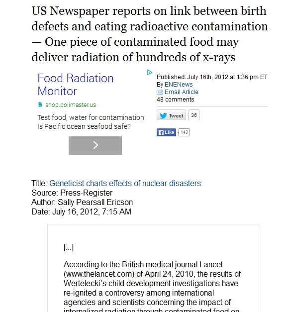 One piece of contaminated food may deliver radiation of hundreds of x-rays.jpg