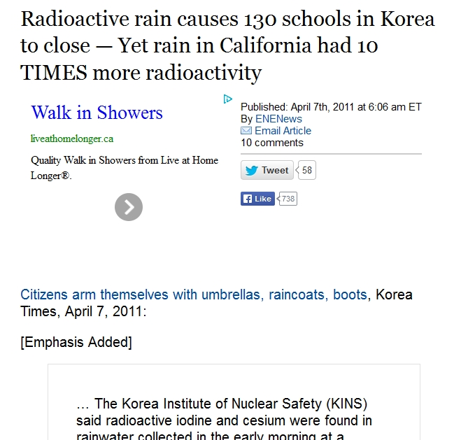 Radioactive rain causes 130 schools in Korea to close — Yet rain in California had 10 TIMES more radioactivity 1.jpg