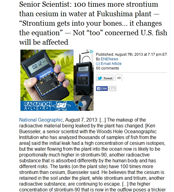100 times more strontium than cesium in water at Fukushima plant.jpg
