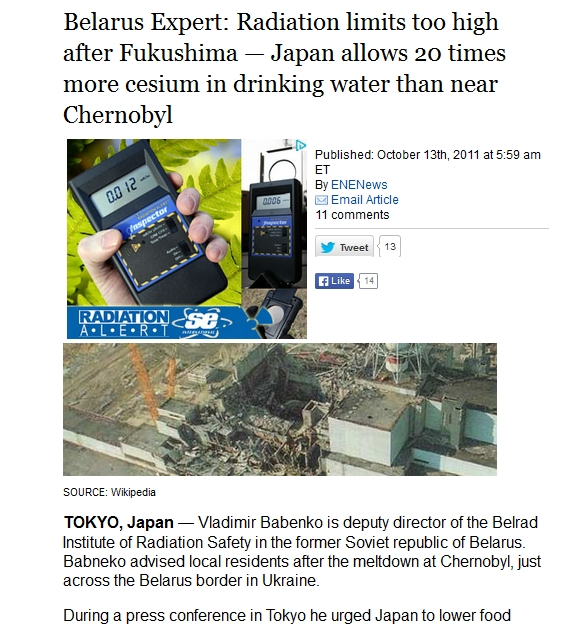 Japan allows 20 times more cesium in drinking water than near Chernobyl.jpg