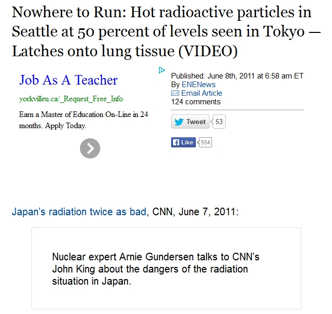 Nowhere to Run Hot radioactive particles in Seattle at 50 percent of levels seen in Tokyo — Latches onto lung tissue 1.jpg