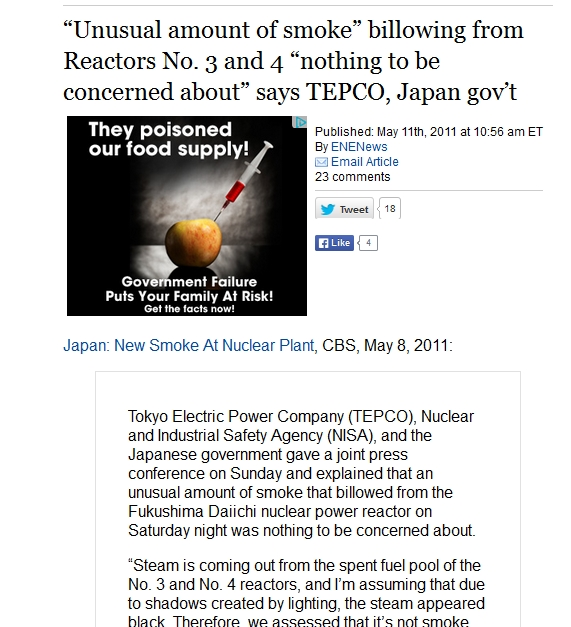 "Reactors No. 3 and 4 ""nothing to be concerned about"" says TEPCO.jpg"