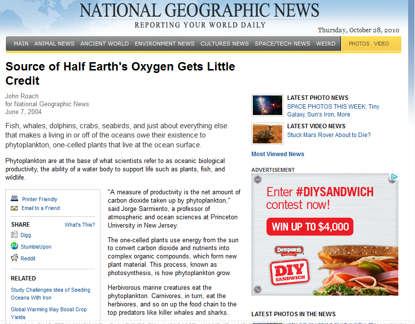 Source of Half Earth's Oxygen Gets Little Credit 1.png