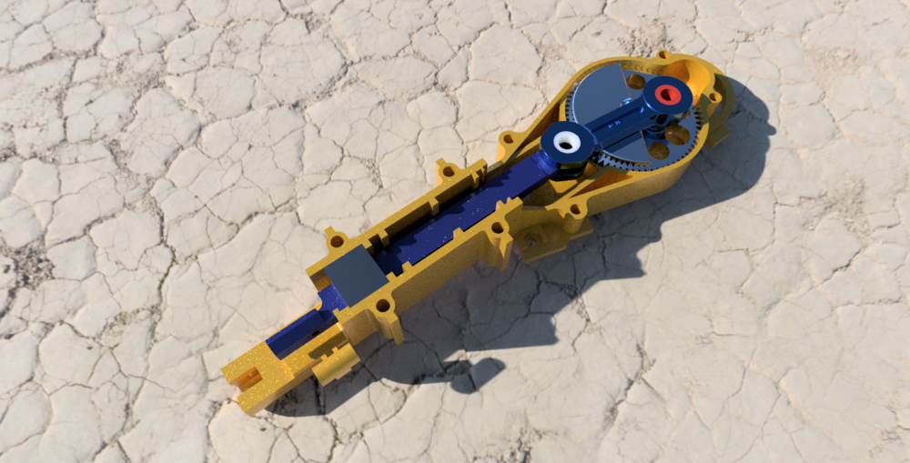3D ELECTRIC HACKSAW MODEL RENDER
