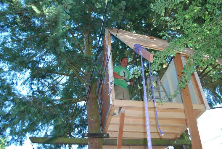 Tree House Plans For Two Trees tree house project — ludwig structural consulting