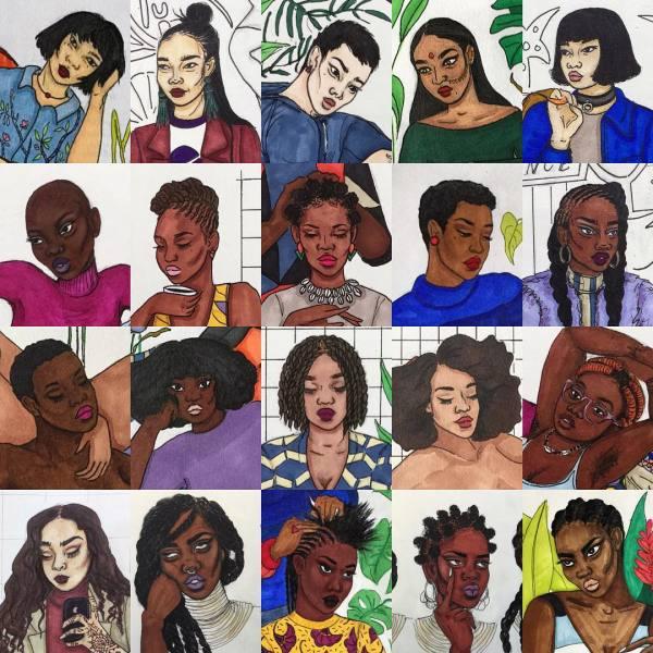 illustration by 17-year-old French artist   @benbiayenda
