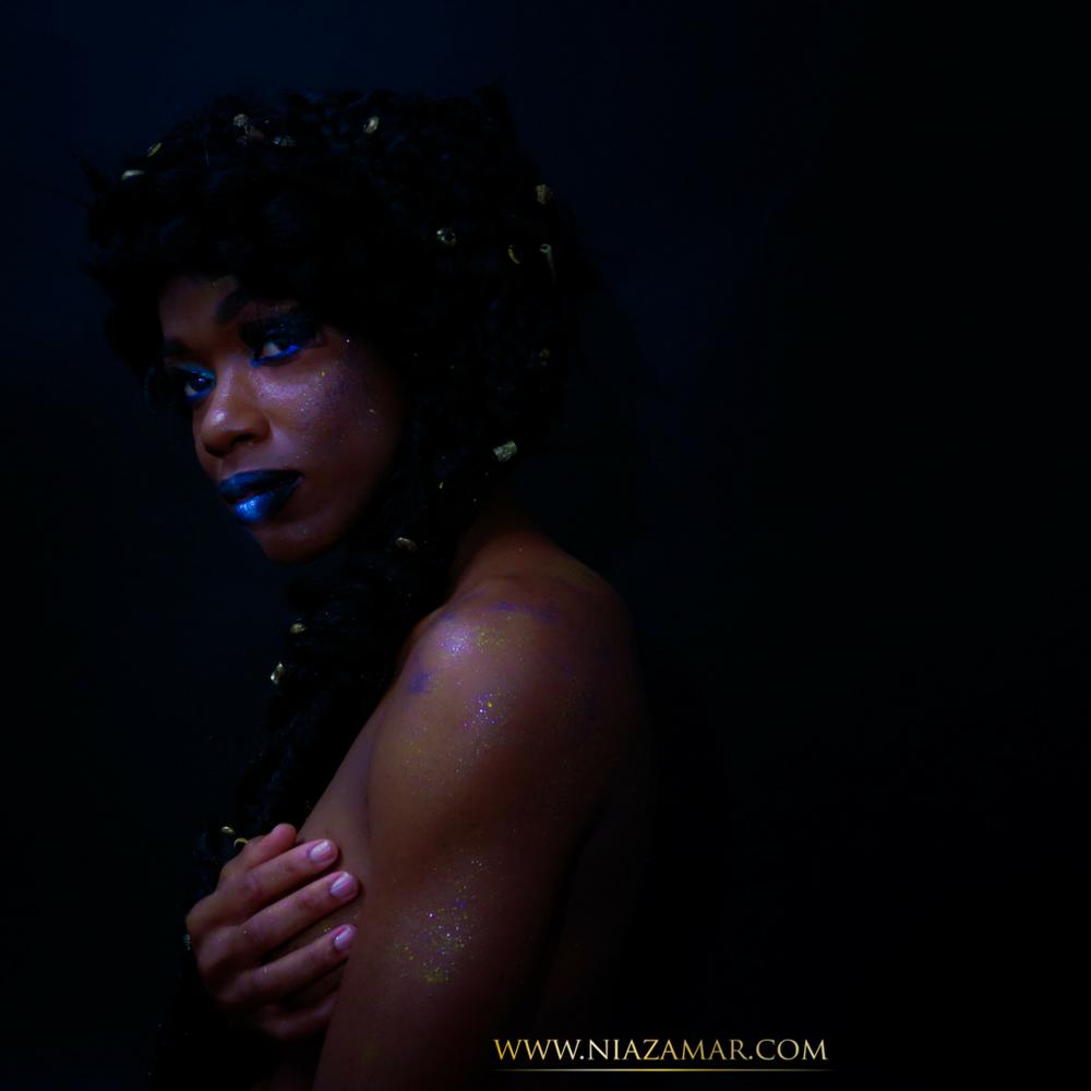 Make-up, Hair, Photography- Tanya Turton  Model-Lereen S. Francois