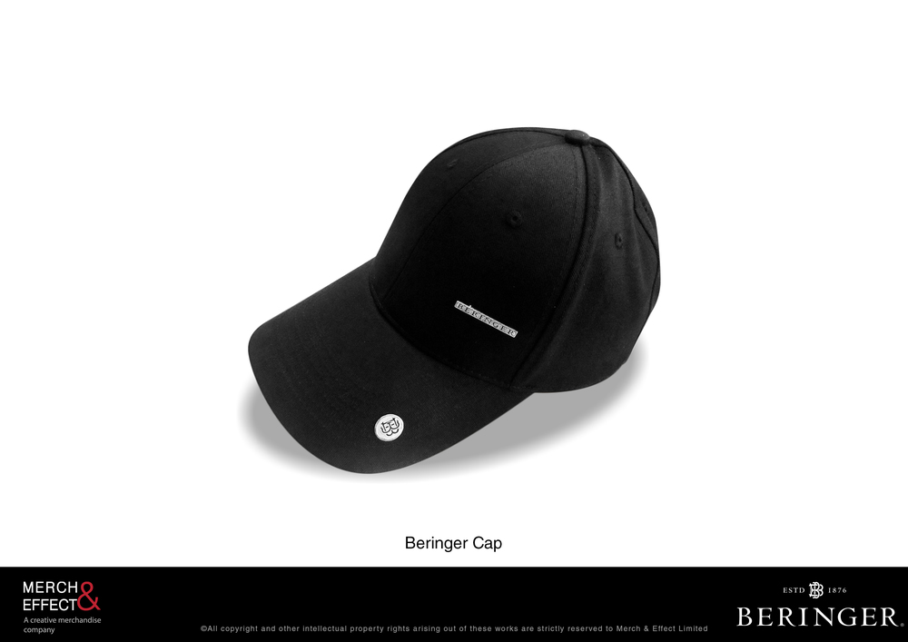 What better way to shield your face during those winery tours than with this simple yet effective Beringer Cap. Made of twill, this cap comes with a button etched with the double B Beringer logo.     This is the perfect add-on to any winery tour package as well as good souvenir that will remind people of their fun time at the winery.