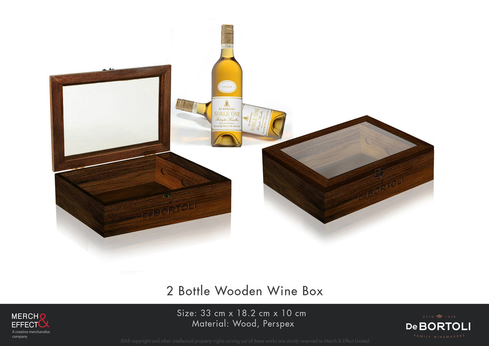 De Bortoli  2 Bottle Wooden Wine Box.jpg
