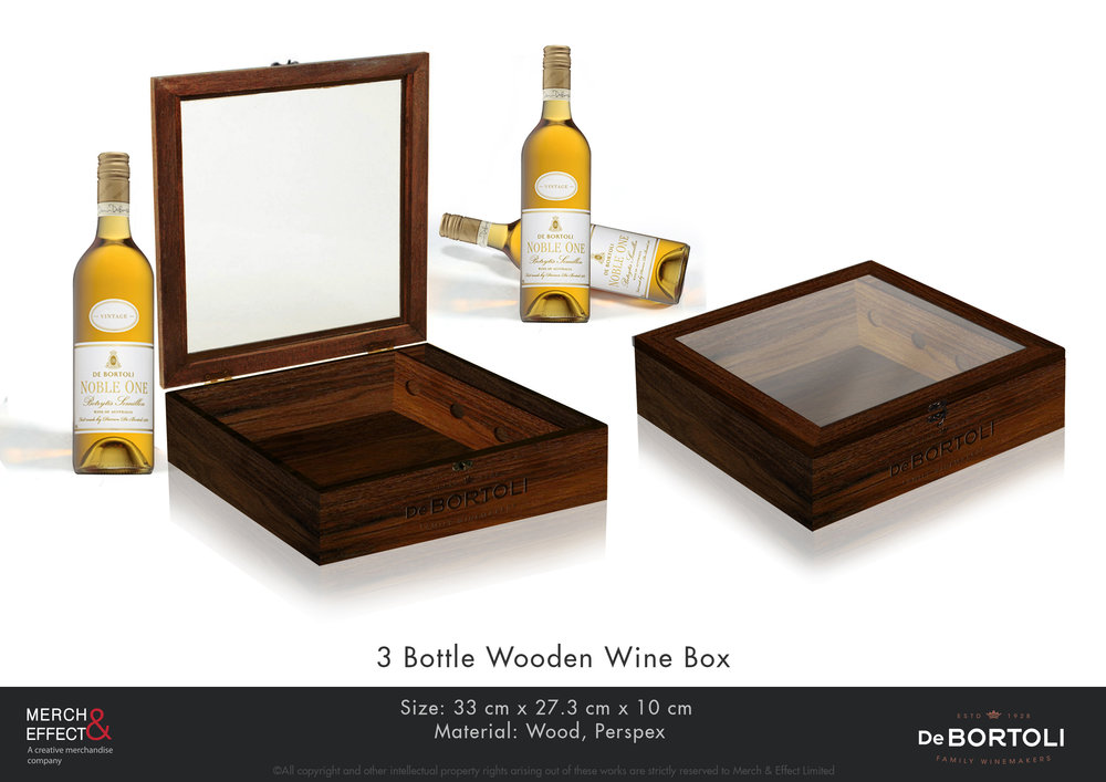 De Bortoli  3 Bottle Wooden Wine Box.jpg