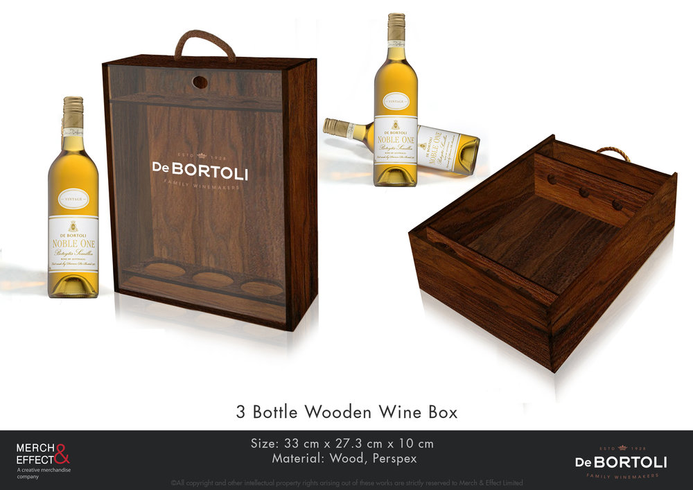 De Bortoli  3 Bottle Wooden Wine Box-2.jpg