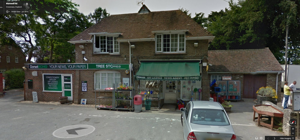 Looks familiar? One reference for the village shop. - source: Google StreetView