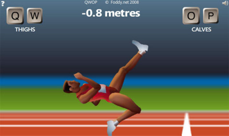 QWOP. Source: Kotaku