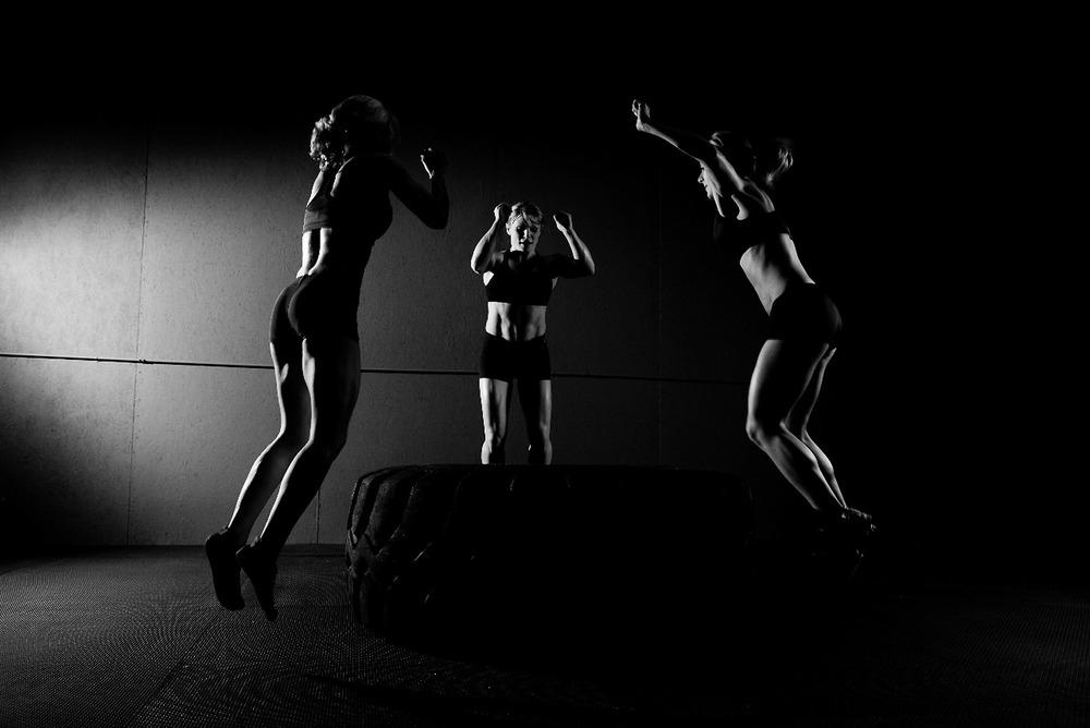 crossfit para muscular, definir y tonificar