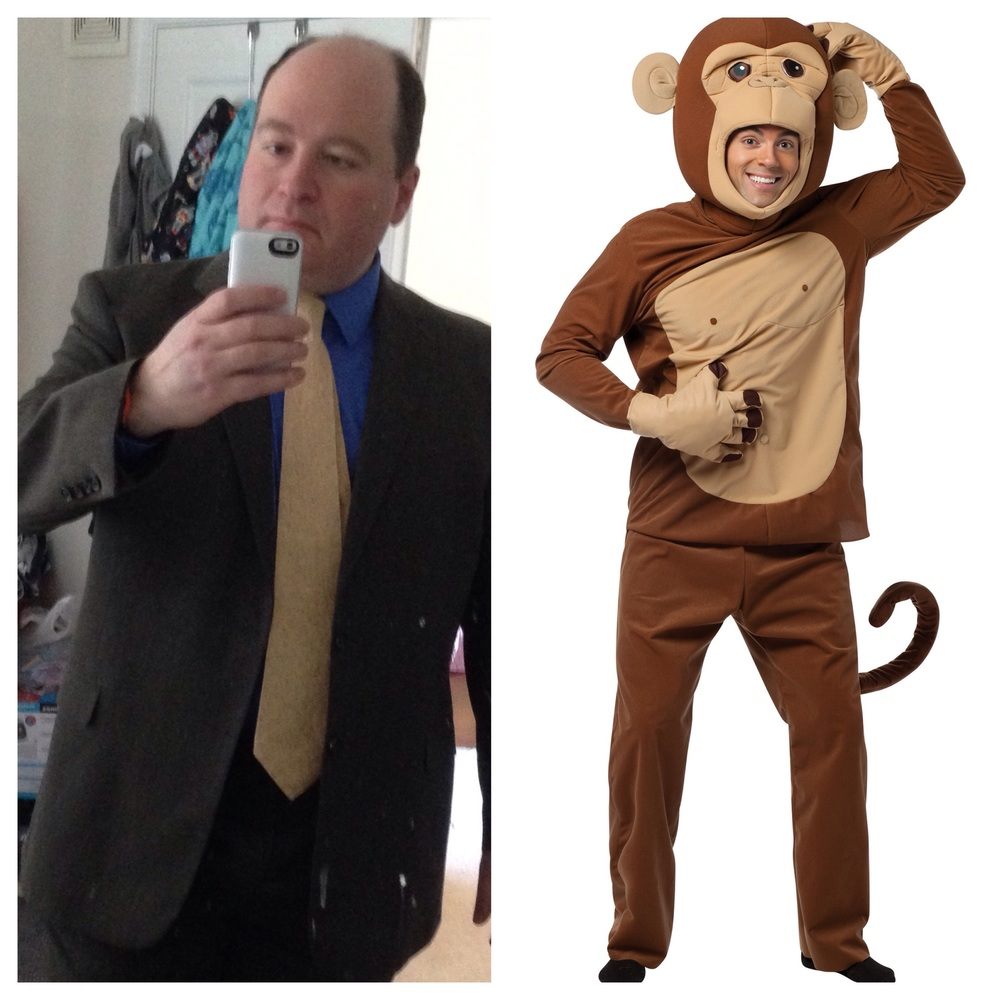 Not an ACTUAL monkey suit