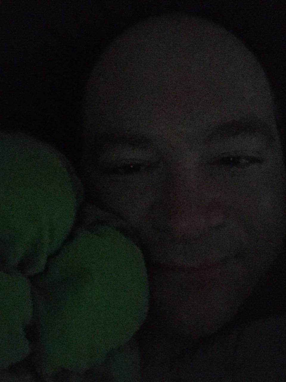 Mako-kun cuddling with Broccoli
