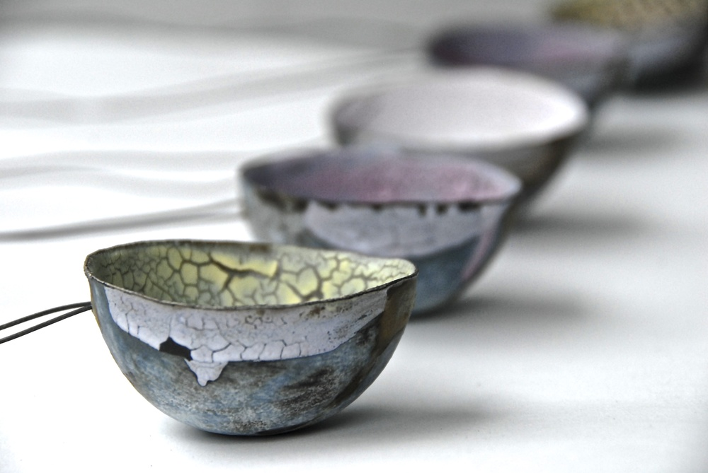 Spoons: Stoneware, wire and crackle glazes  Photo: Charlie Hawkins