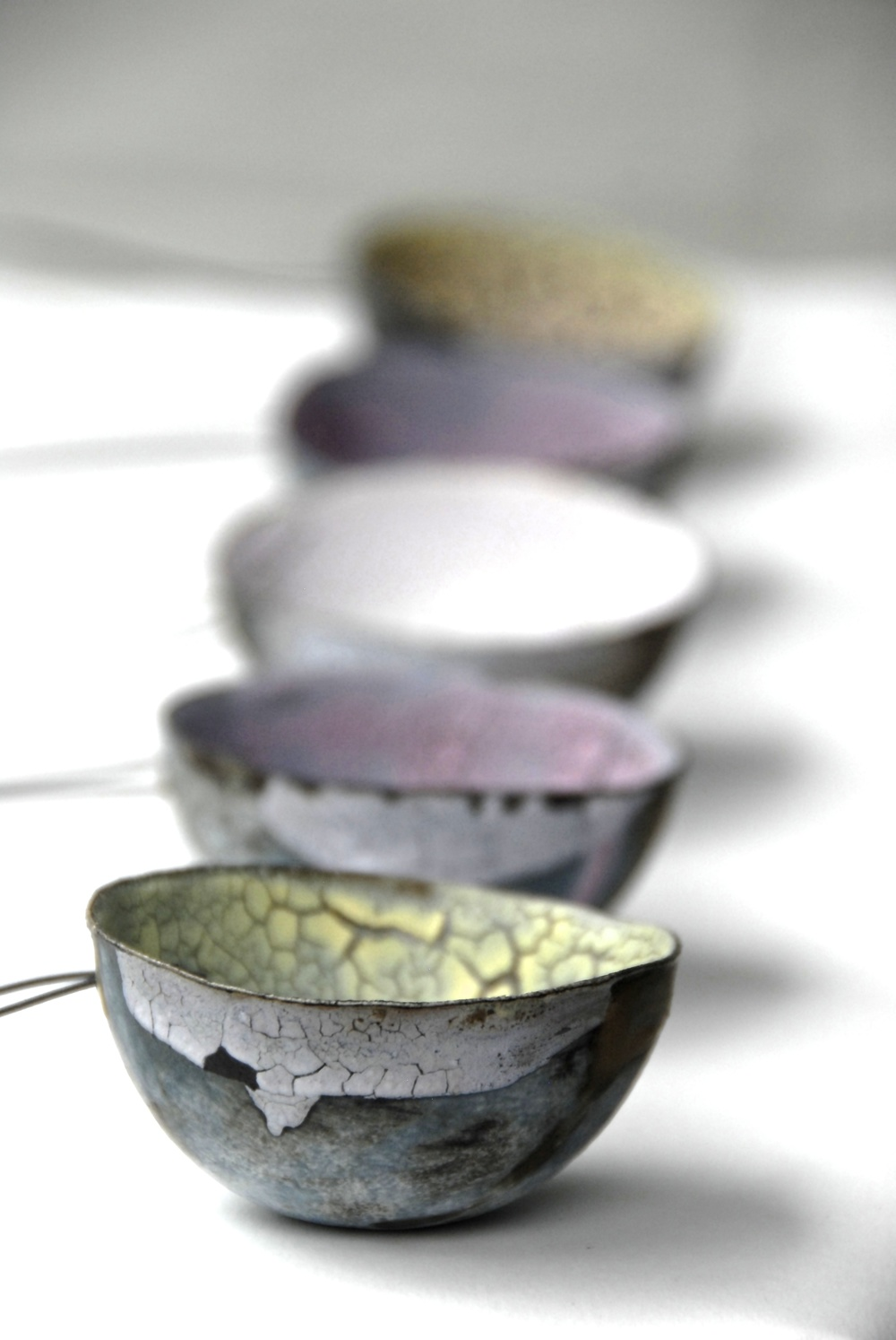 Spoon: Stoneware, wire and crackle glaze. Photo: Charlie Hawkins