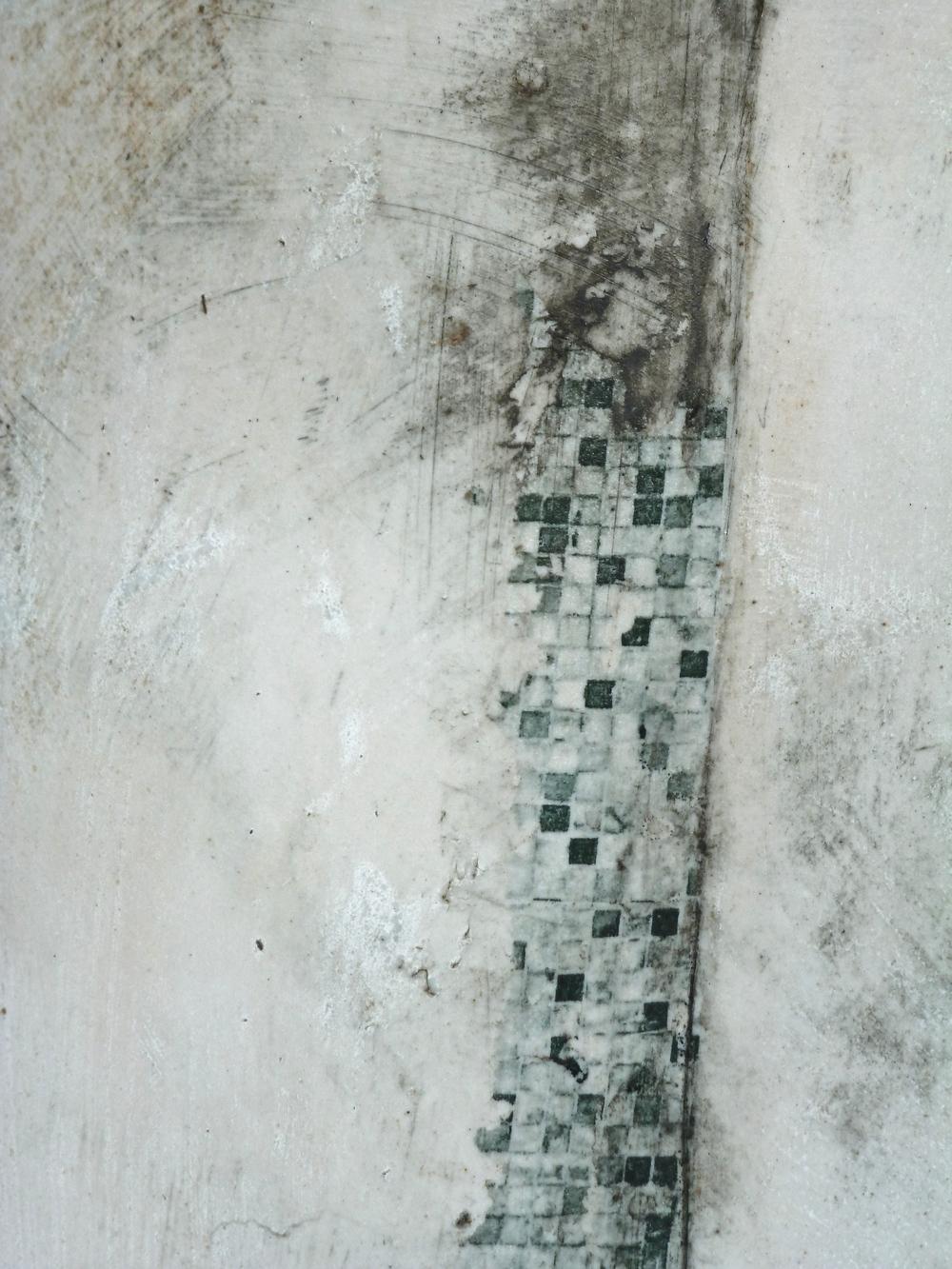 Stoneware Vessel: detail