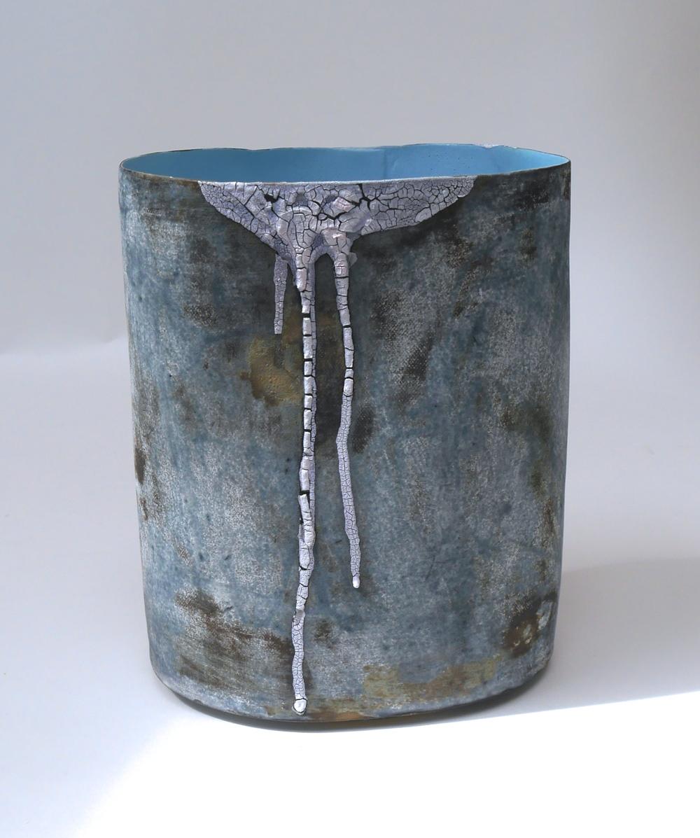 FAVELA VESSEL (Blue) H.19cm.jpg