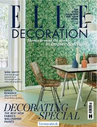 Elle Decoration Magazine. April 2018