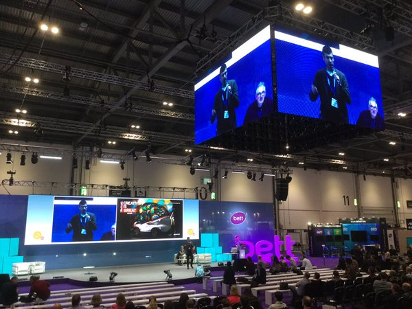 BETT 2016 Nick on stage with CREATIVIY IS GREAT Wilcox.jpg