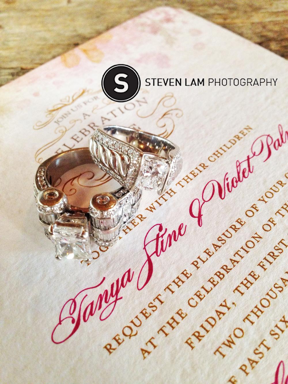 tanya violet bling wedding � steven lam photography