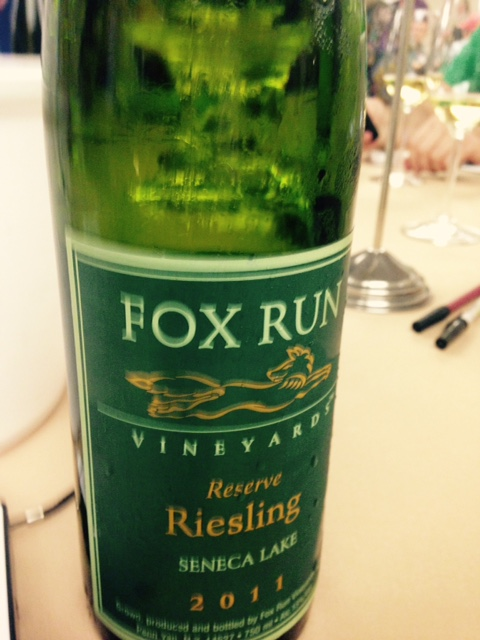Fox Run Vineyards 2011 Reserve Riesling