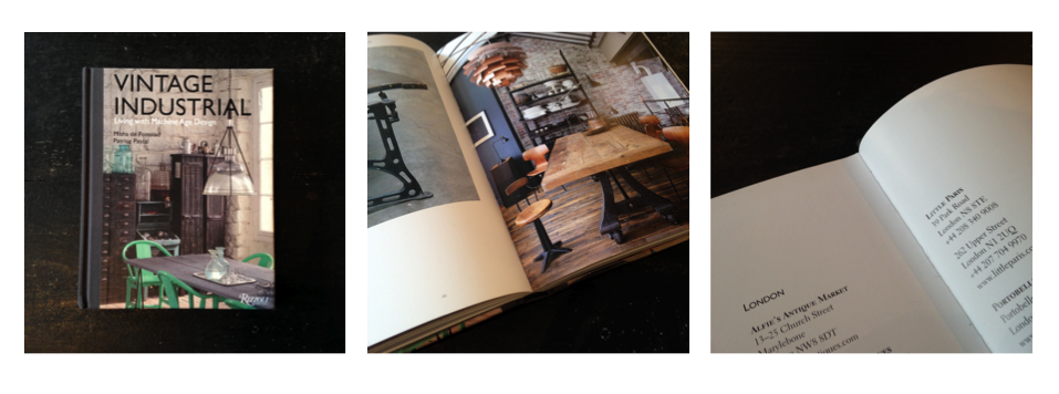 Vintage Industrial - Living With Machine Age Design (Rizzoli Publications) / 2014