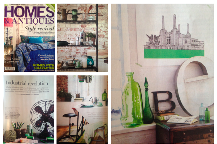HOMES & ANTIQUES / April 2015
