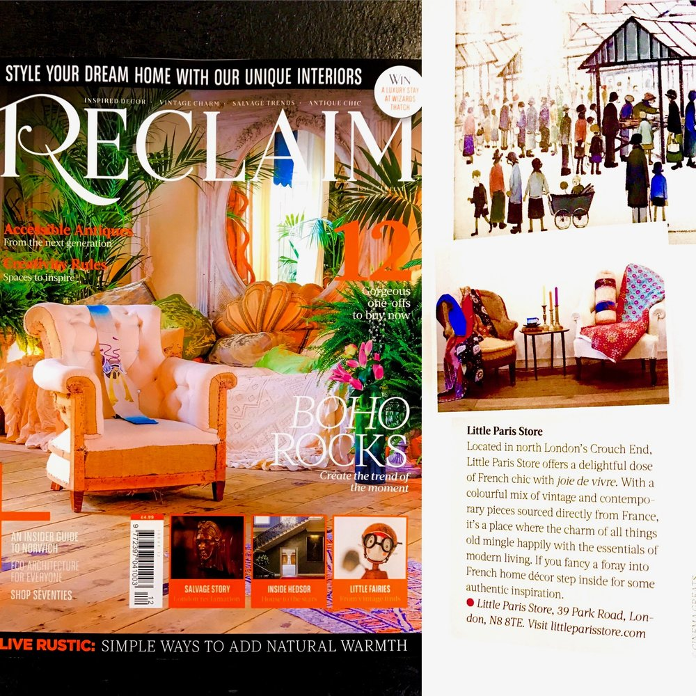 RECLAIM MAGAZINE FEBRUARY 2017