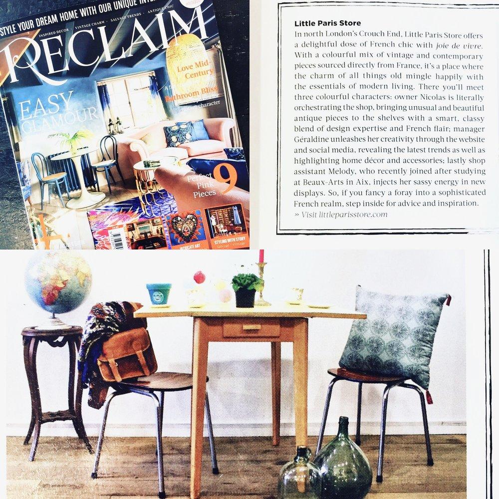 Reclaim Magazine Juin 2017