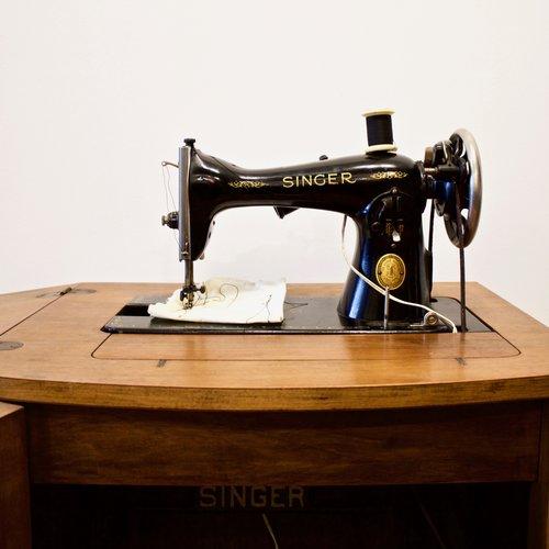 40's Singer Sewing Machine Cabinet Little Paris Store Amazing 1950 Singer Sewing Machine