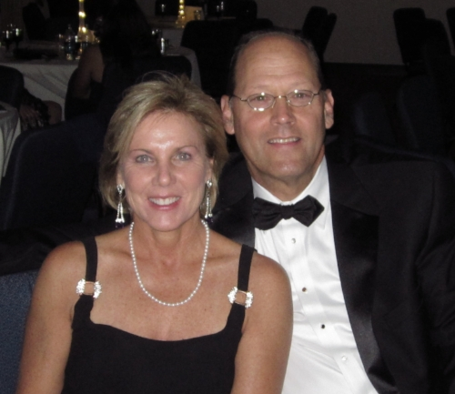 Phil and Pam Fleenor at a recent American Cancer Society fundraiser.
