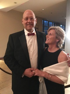 Phil and Pam Fleenor at the Heart Ball, February 23, 2018
