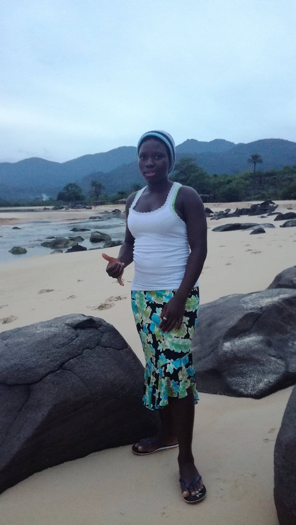 """KK"" from Bureh Beach/Sierra Leone"