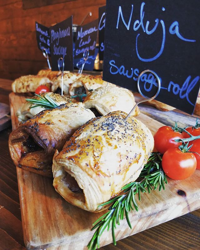 We Have a wonderful selection of sausage and vege rolls fresh out the oven (supplied by the fantastic people @brewandbake_hq) #uecoffeeroasters #trueartisans #brewandbake #sausagerolls #foodporn #yummy #fresh #bestinoxfordshire #bestinwitney #cafe #coffeeshop